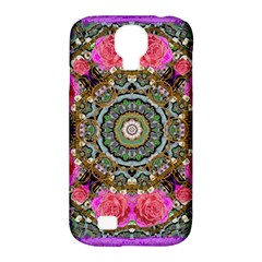 Roses In A Color Cascade Of Freedom And Peace Samsung Galaxy S4 Classic Hardshell Case (pc+silicone)