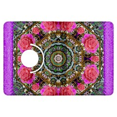 Roses In A Color Cascade Of Freedom And Peace Kindle Fire Hdx Flip 360 Case