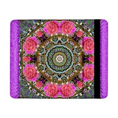 Roses In A Color Cascade Of Freedom And Peace Samsung Galaxy Tab Pro 8 4  Flip Case