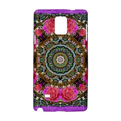 Roses In A Color Cascade Of Freedom And Peace Samsung Galaxy Note 4 Hardshell Case