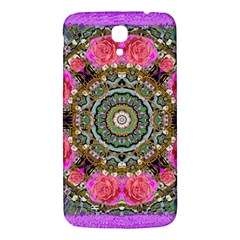 Roses In A Color Cascade Of Freedom And Peace Samsung Galaxy Mega I9200 Hardshell Back Case