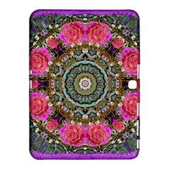 Roses In A Color Cascade Of Freedom And Peace Samsung Galaxy Tab 4 (10 1 ) Hardshell Case