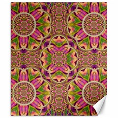 Jungle Flowers In Paradise  Lovely Chic Colors Canvas 20  X 24