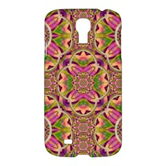 Jungle Flowers In Paradise  Lovely Chic Colors Samsung Galaxy S4 I9500/i9505 Hardshell Case