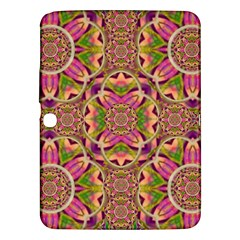 Jungle Flowers In Paradise  Lovely Chic Colors Samsung Galaxy Tab 3 (10 1 ) P5200 Hardshell Case