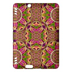 Jungle Flowers In Paradise  Lovely Chic Colors Kindle Fire Hdx Hardshell Case