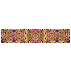 Jungle Flowers In Paradise  Lovely Chic Colors Small Flano Scarf