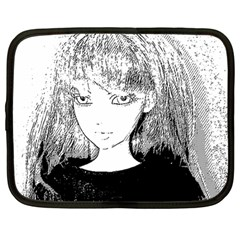 Girl Netbook Case (large)