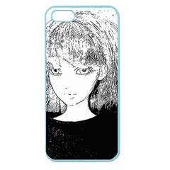 Girl Apple Seamless Iphone 5 Case (color)