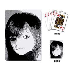 Boy Playing Card