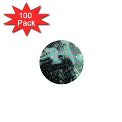 Grainy Angelica 1  Mini Magnets (100 Pack)