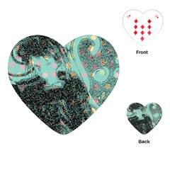 Grainy Angelica Playing Cards (heart)