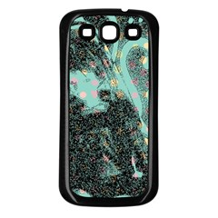 Grainy Angelica Samsung Galaxy S3 Back Case (black)