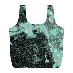 Grainy Angelica Full Print Recycle Bags (l)