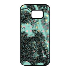 Grainy Angelica Samsung Galaxy S7 Edge Black Seamless Case