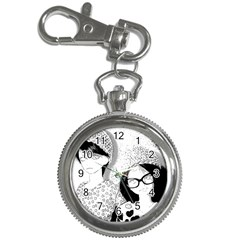 Twins Key Chain Watches