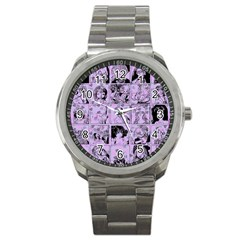 Lilac Yearbook 1 Sport Metal Watch