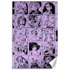 Lilac Yearbook 1 Canvas 24  X 36