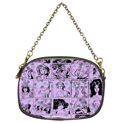 Lilac Yearbook 1 Chain Purses (two Sides)