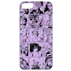 Lilac Yearbook 1 Apple Iphone 5 Classic Hardshell Case