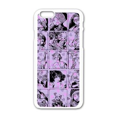 Lilac Yearbook 1 Apple Iphone 6/6s White Enamel Case