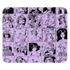 Lilac Yearbook 1 Double Sided Flano Blanket (small)