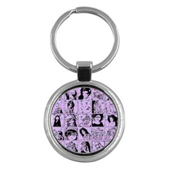 Lilac Yearbook 2 Key Chains (round)