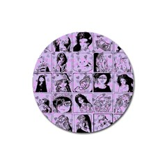 Lilac Yearbook 2 Magnet 3  (round)