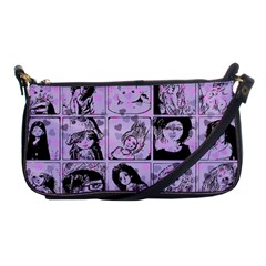 Lilac Yearbook 2 Shoulder Clutch Bags