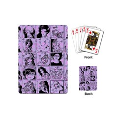 Lilac Yearbook 2 Playing Cards (mini)