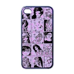 Lilac Yearbook 2 Apple Iphone 4 Case (black)