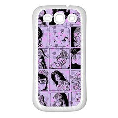 Lilac Yearbook 2 Samsung Galaxy S3 Back Case (white)