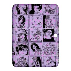 Lilac Yearbook 2 Samsung Galaxy Tab 4 (10 1 ) Hardshell Case