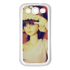 Captain Samsung Galaxy S3 Back Case (white)