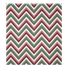Chevron Blue Pink Shower Curtain 66  X 72  (large)