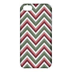 Chevron Blue Pink Apple Iphone 5c Hardshell Case