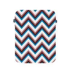 Zigzag Chevron Pattern Blue Magenta Apple Ipad 2/3/4 Protective Soft Cases