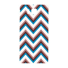 Zigzag Chevron Pattern Blue Magenta Samsung Galaxy Alpha Hardshell Back Case