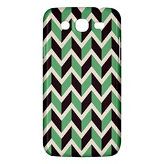 Zigzag Chevron Pattern Green Black Samsung Galaxy Mega 5 8 I9152 Hardshell Case