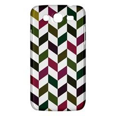 Zigzag Chevron Pattern Green Purple Samsung Galaxy Mega 5 8 I9152 Hardshell Case