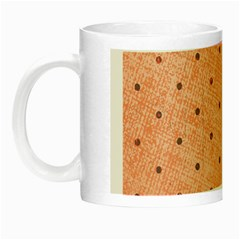 Dot Peach Night Luminous Mugs