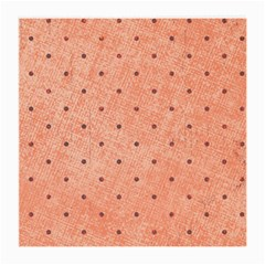 Dot Peach Medium Glasses Cloth