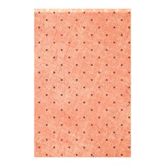 Dot Peach Shower Curtain 48  X 72  (small)