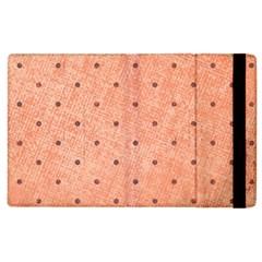 Dot Peach Apple Ipad 2 Flip Case