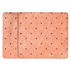 Dot Peach Samsung Galaxy Tab 10 1  P7500 Flip Case