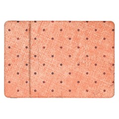 Dot Peach Samsung Galaxy Tab 8 9  P7300 Flip Case