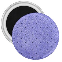Dot Blue 3  Magnets
