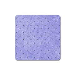 Dot Blue Square Magnet