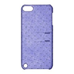 Dot Blue Apple Ipod Touch 5 Hardshell Case With Stand