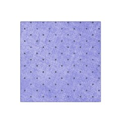 Dot Blue Satin Bandana Scarf